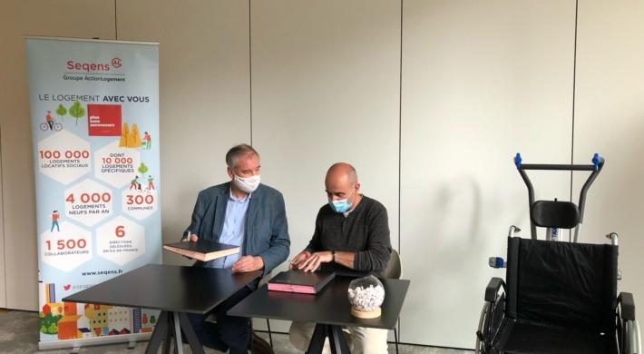 Signature d'une convention d'expérimentation pour une mobilité verticale assurée!