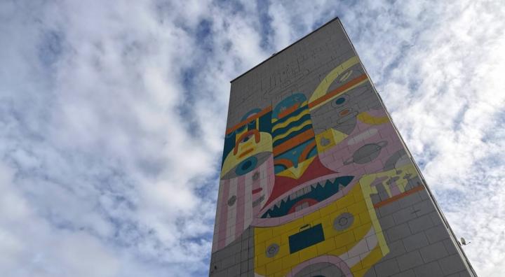 Inauguration d'une fresque – Pablito Zago