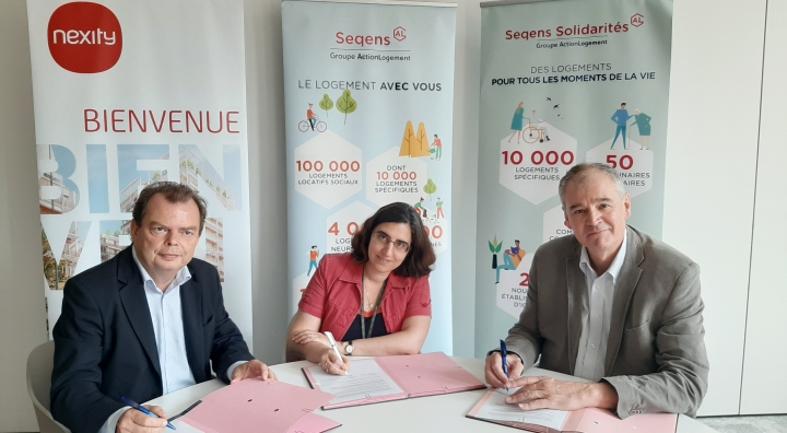 Seqens Solidarités, Seqens et Nexity s'engagent pour le logement des plus fragiles