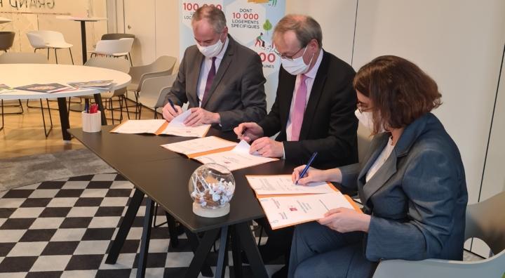 Seqens, Seqens Solidarités et la Caisse d'Epargne s'engagent ensemble pour la relance.
