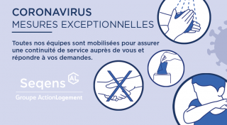 Coronavirus: Seqens s'organise