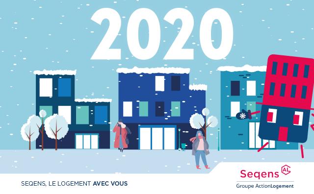 Les équipes de Seqens vous souhaitent une belle année 2020!
