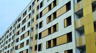 Fin de chantier de réhabilitation pour la résidenceChopin à Bagneux
