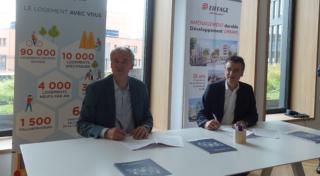 En partenariat avec Eiffage Aménagement: Seqens porte une opération de requalification urbaine à Igny