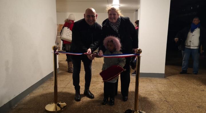 Inauguration résidence Le Parc à Guyancourt
