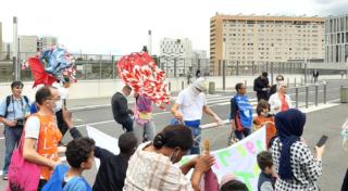 Découvrez la manif des enfants à Nanterre
