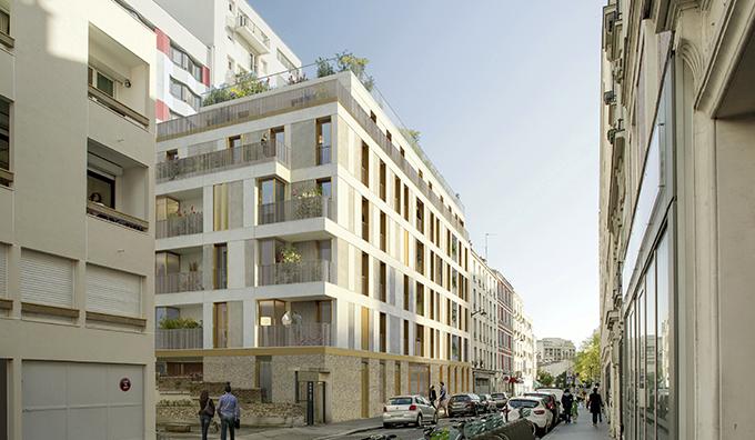 Un projet de résidence verte à Paris 20