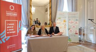 Convention de partenariat signée avec la Banque Des Territoires