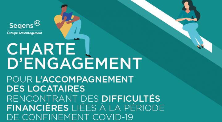 Seqens à vos côtés: charte  d'engagement pour l'accompagnement renforcé des locataires