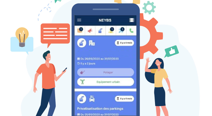 NEYB'S, un outil numérique au service de la relation locataire